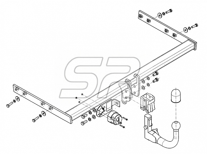 Enganche Audi A3 Sportback